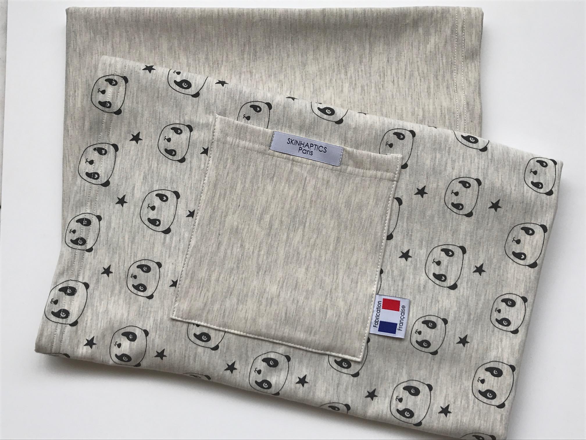 Excellente qualité joli design 100% d'origine ECHARPE DE PORTAGE BEBE (Beige)